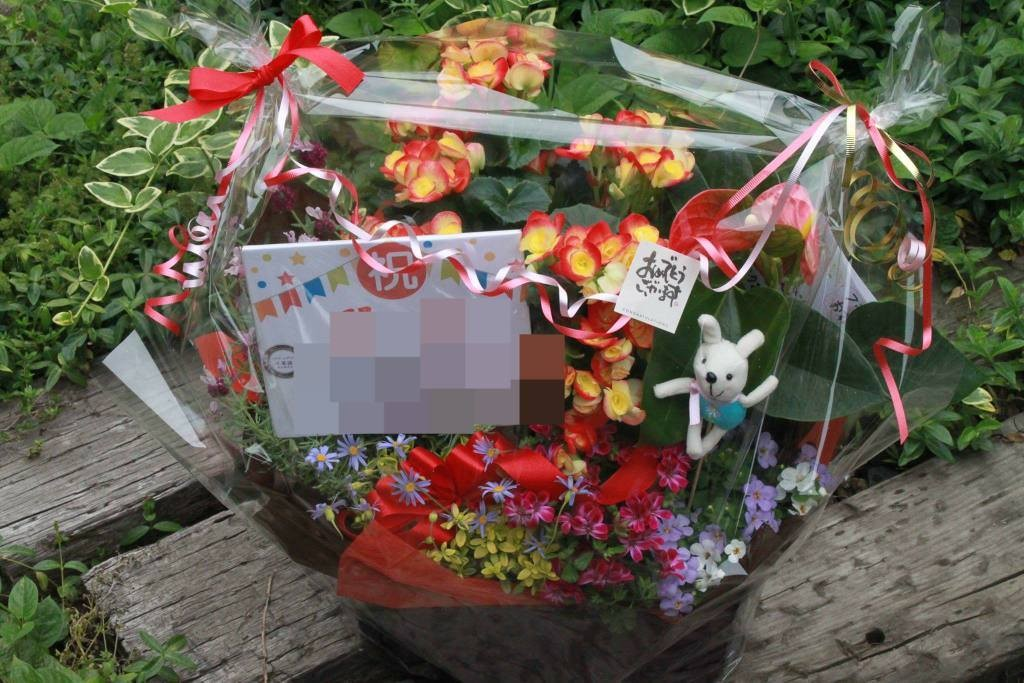 引き続き、開店のお祝い花☆