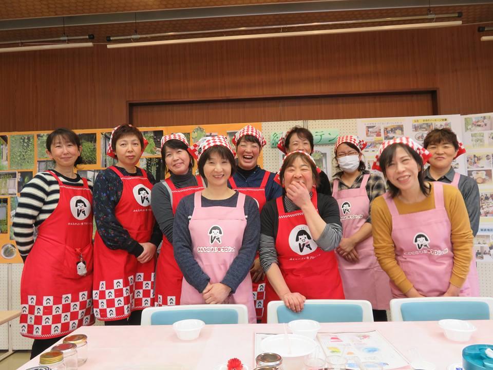 JAなんと農業祭で女性部展示が大賑わい♪