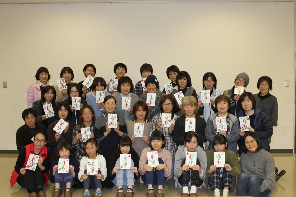 南山田カレッジ「切り絵講座」