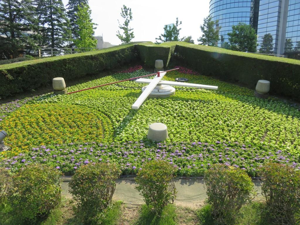 県庁前公園の花時計見て来た!!