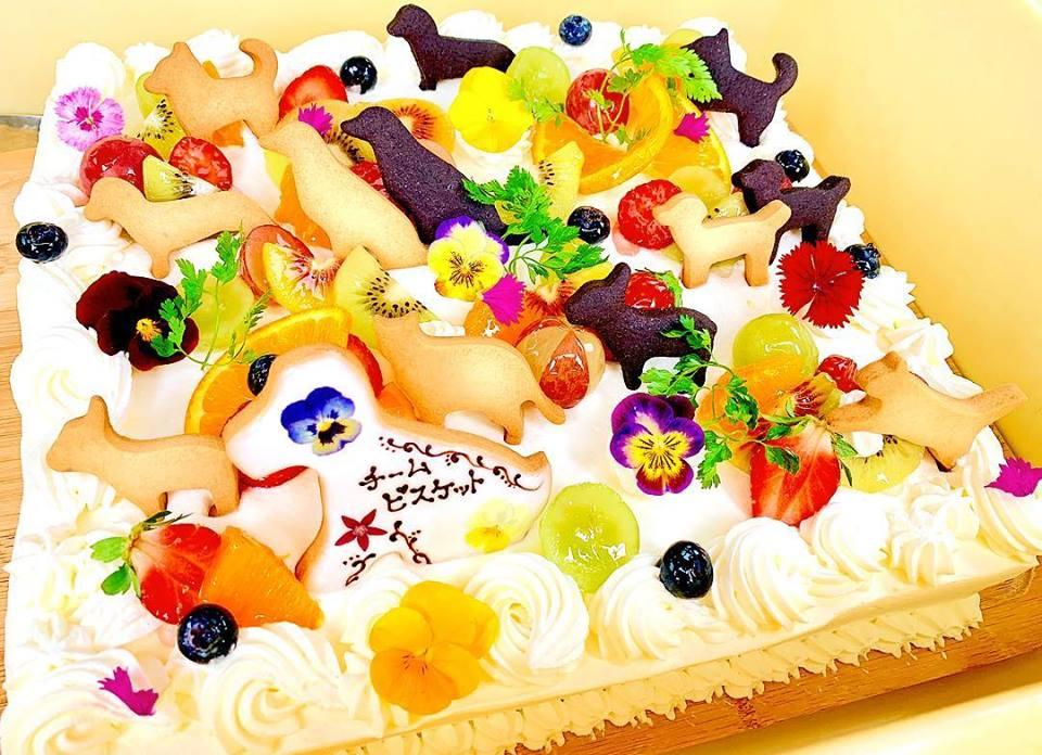 誰もが喜ぶデコレーションケーキ
