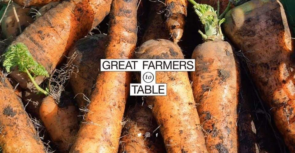 「GREAT FARMERS TO TABLE」に掲載されました🌸