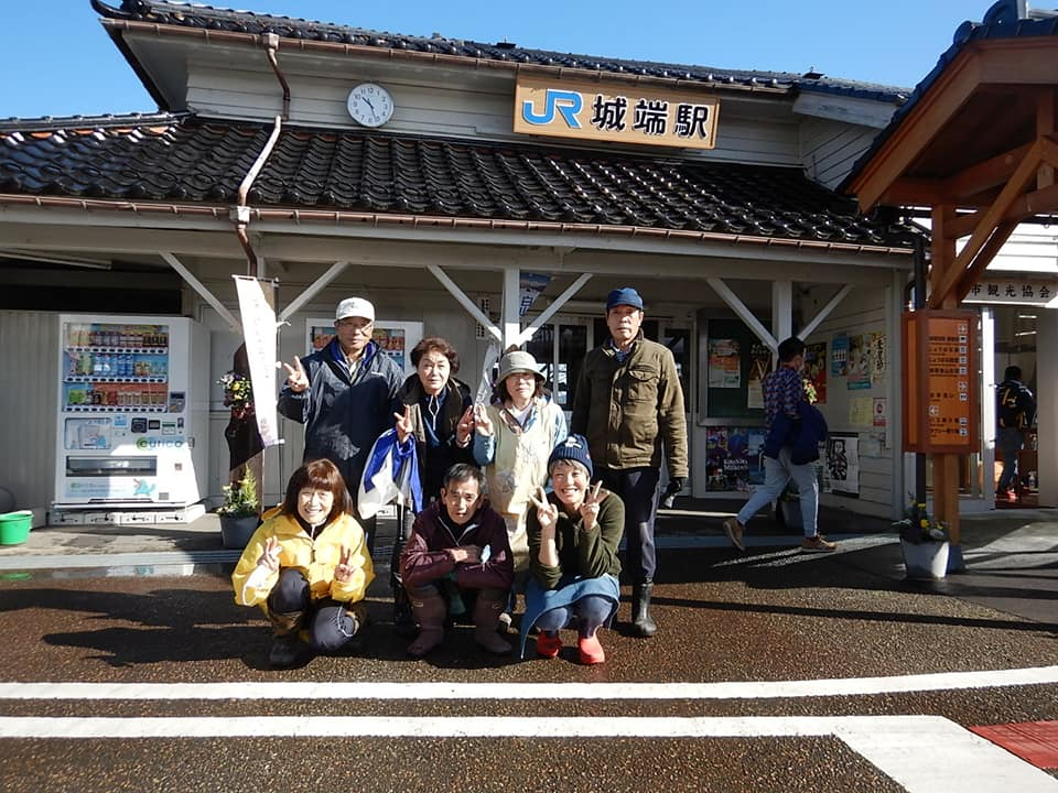 駅前花飾り2020冬Ver.