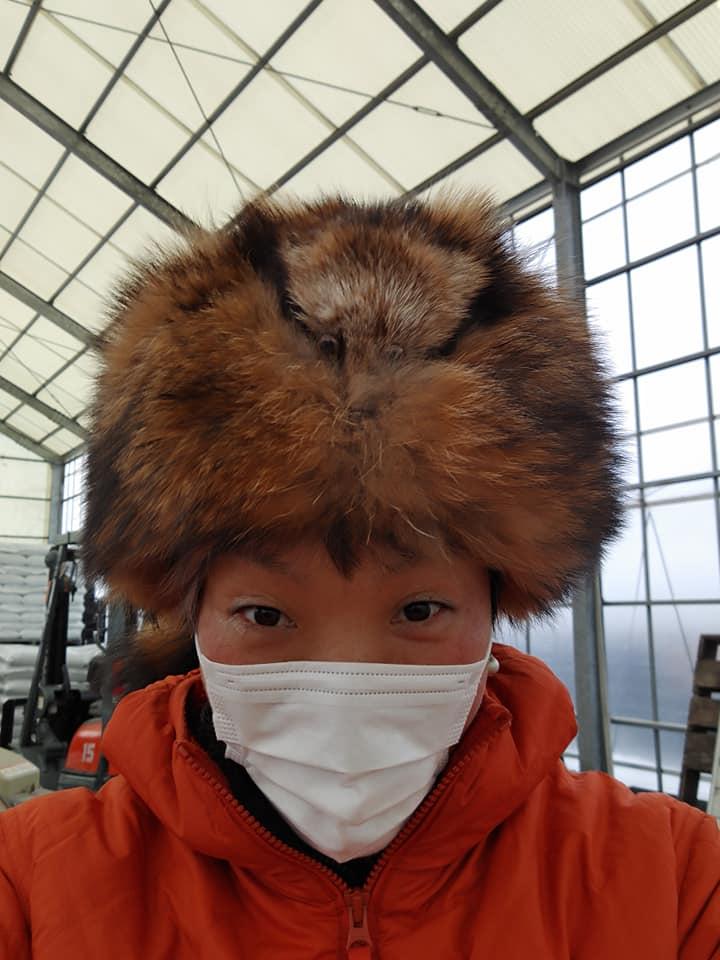 ハンターの帽子