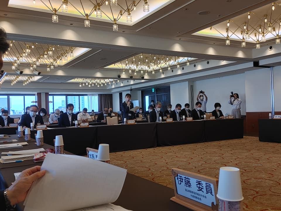 今年度第1回目の富山県農政審議会に出席